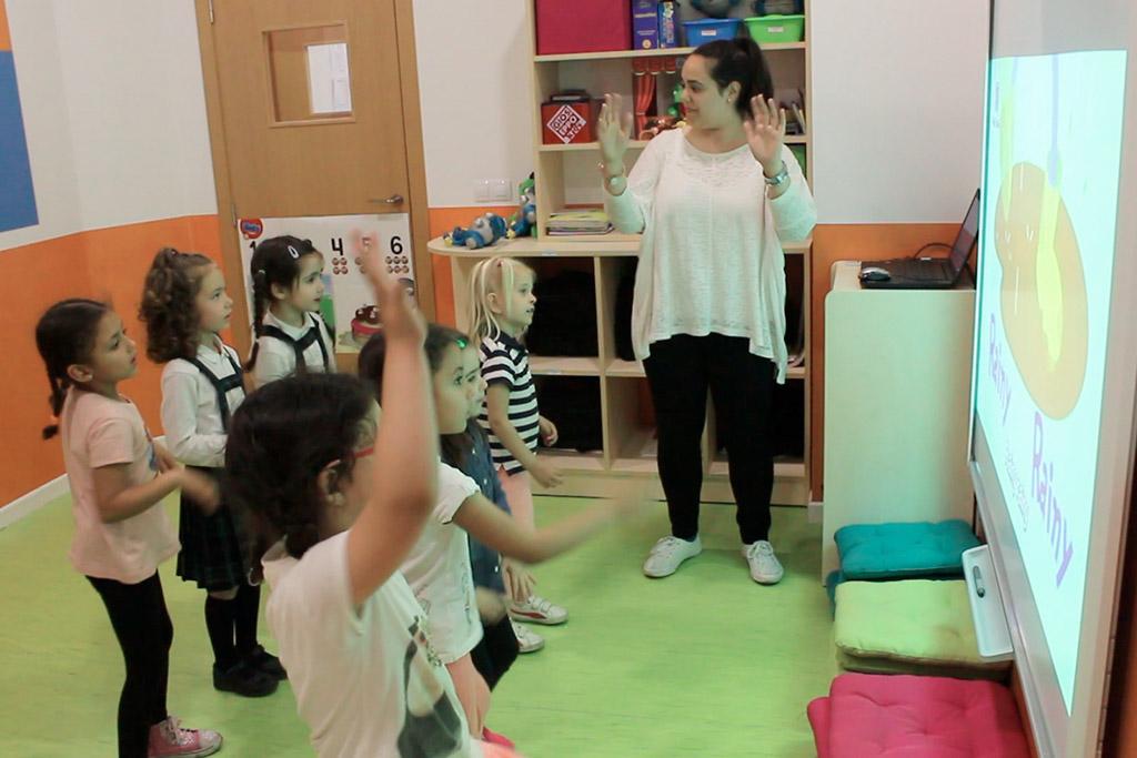 academia para niños ingles advance
